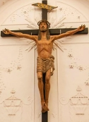 Bronte (CT) - Chiesa di S. Giovanni - Il Crocifisso Notaio