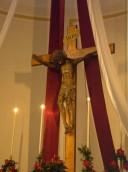 Randazzo (CT) - Chiesa S. Martino - Crocifisso della pioggia (Giovanni Antonio Matinati)
