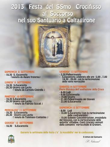 Caltagirone (CT) - Santuario del SS. Crocifisso del Soccorso