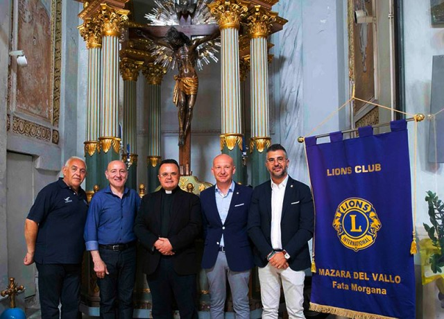 Campobello di Mazara, il Crocifisso di fra Umile sarà restaurato coi fondi del Lions Club | Diocesi Mazara del Vallo